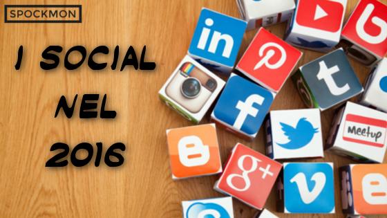 Quali saranno i trend del 2016 sui Social Network?